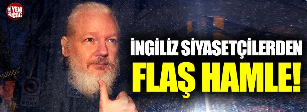 İngiliz siyasetçilerden Assange'ın iadesine karşı çıktı