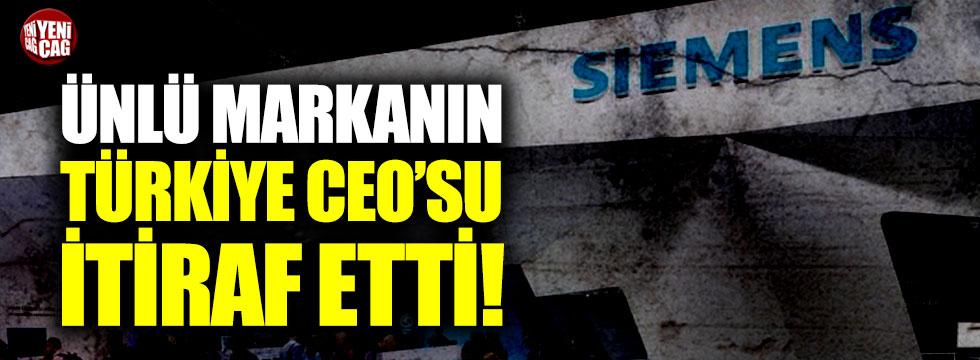 Ünlü markanın Türkiye CEO'su itiraf etti!