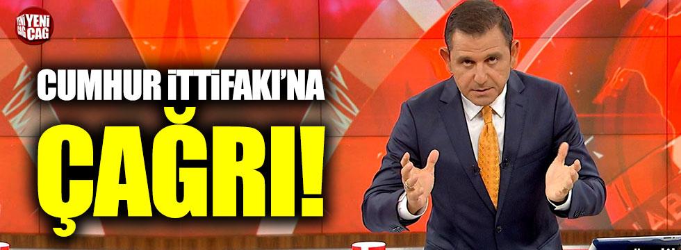 Fatih Portakal'dan Cumhur İttifakı'na çağrı!
