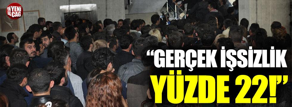 """Aykut Erdoğdu: """"Gerçek işsizlik oranı yüzde 22"""""""