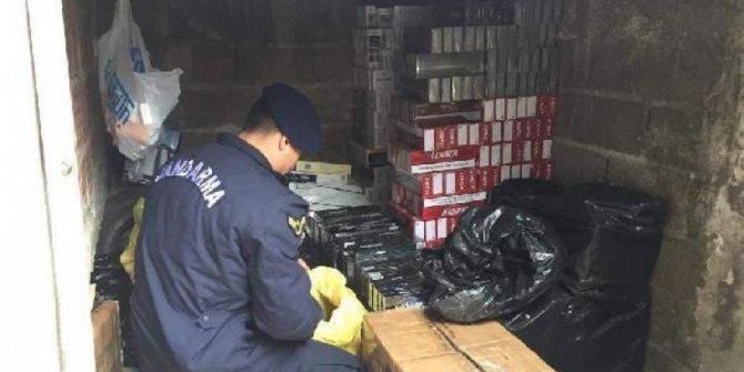 Kocaeli'de kaçak sigara operasyonu