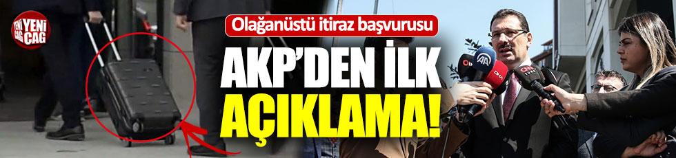 AKP olağanüstü itiraz başvurusunu yaptı