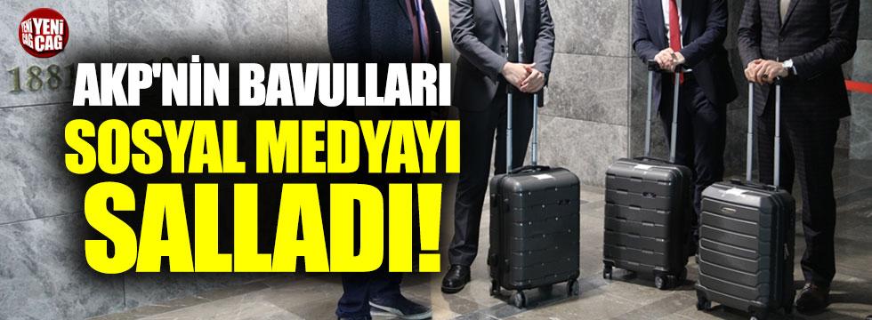 AKP'nin bavulları sosyal medyayı salladı