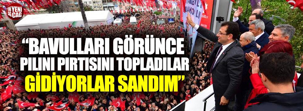 Ekrem İmamoğlu'ndan AKP'ye bavul tepkisi