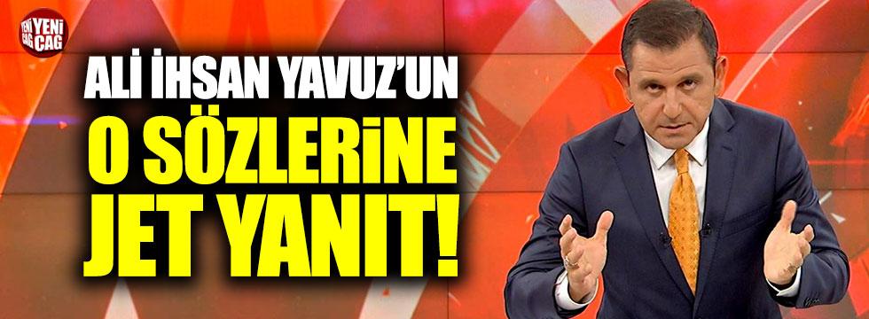 Fatih Portakal'dan Ali İhsan Yavuz'a jet yanıt!