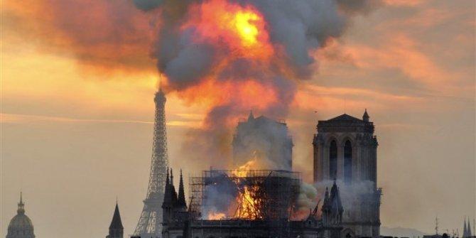 Notre Dame yangınının nedeni açıklandı!
