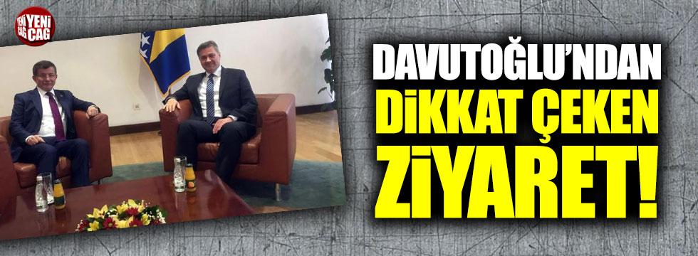 Yeni parti kuracağı iddia edilen Ahmet Davutoğlu'ndan dikkat çeken ziyaret!
