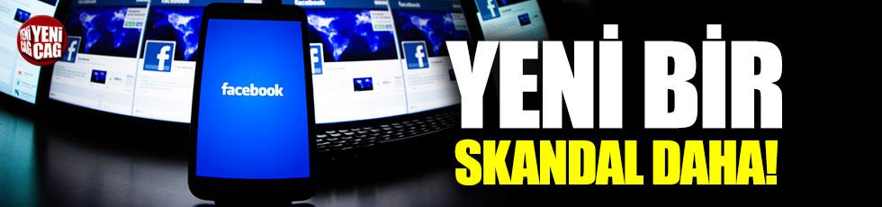 Facebook'tan bir skandal daha!