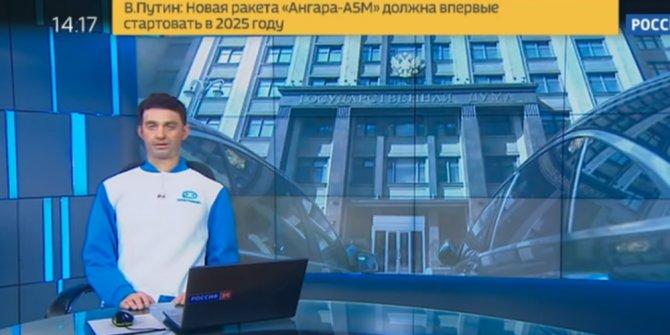 Rusya'da ilk kez bir robot haber sundu!