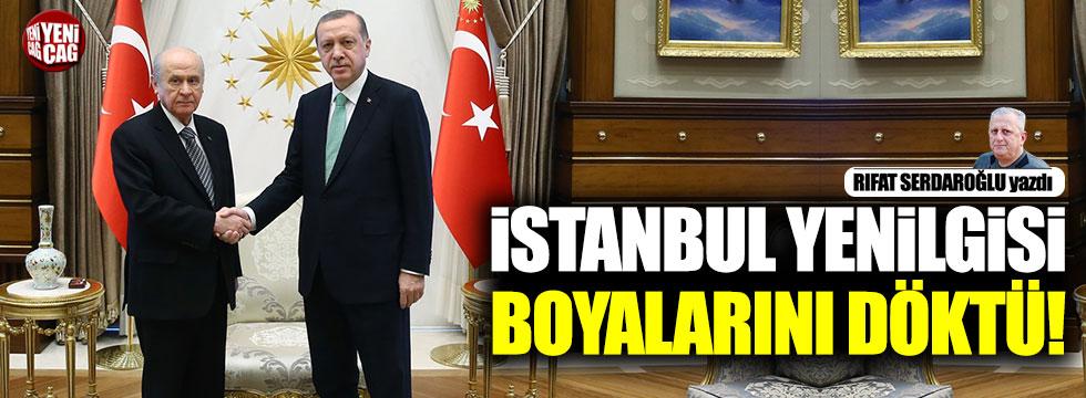 """""""İstanbul yenilgisi boyalarını döktü"""""""