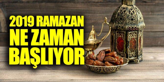 Ramazan ne zaman başlayacak? İlk oruç ne zaman?
