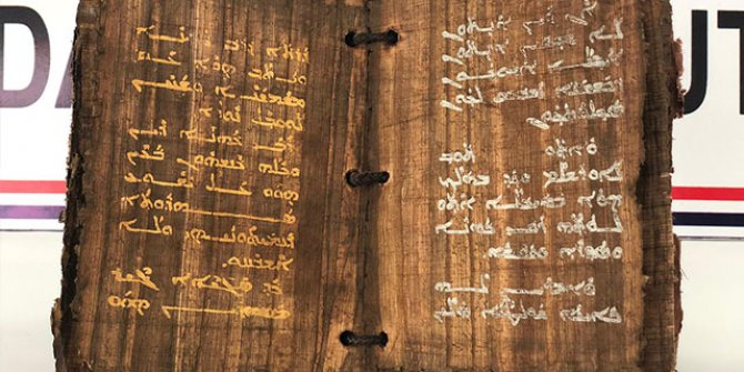 Diyarbakır'da ele geçirildi! Tam bin 300 yıllık!