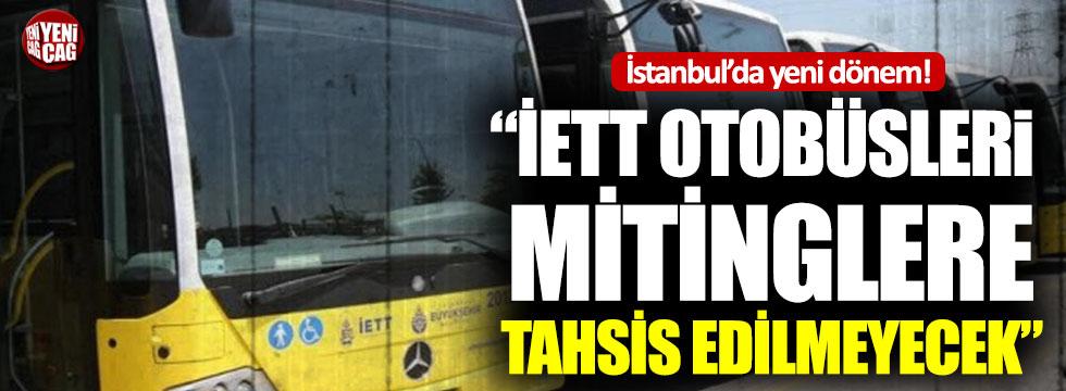 İmamoğlu'ndan Maltepe kararı: İETT otobüslerini tahsis etmedik