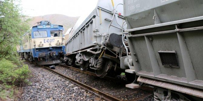 Malatya Hekimhan'da tren kazası
