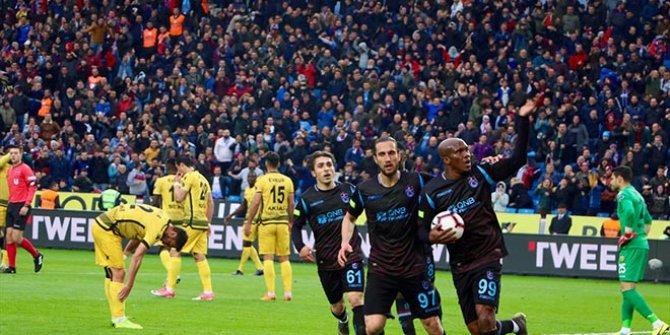 Trabzonspor galibiyet serisini bozmadı