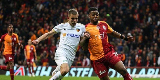 Galatasaray'ın yenilmezlik serisi sürüyor