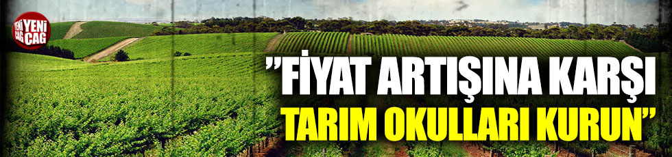 """CHP'li Gürer: """"Fiyat artışına karşı tarım okulları kurun"""""""