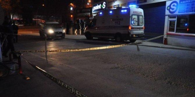 Ankara'da pompalı saldırı: 1 yaralı
