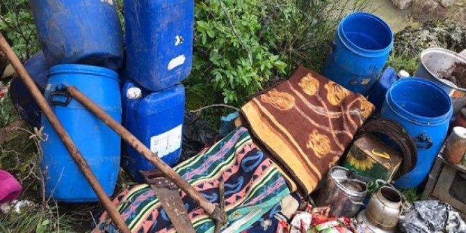 PKK'lı teröristlerin kullandığı 9 sığınak imha edildi