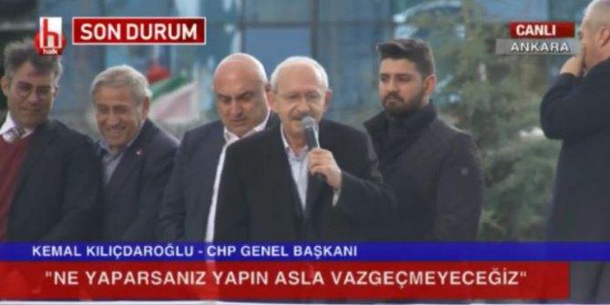 Kılıçdaroğlu, saldırının ardından vatandaşlara seslendi