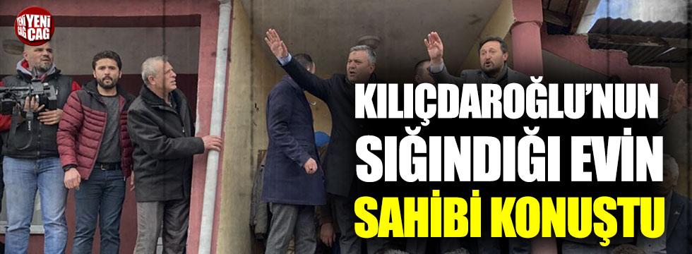 Kılıçdaroğlu'nun saldırı sonrası sığındığı evin sahibi konuştu
