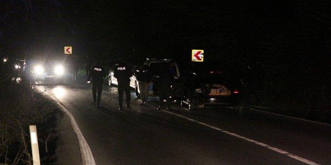 Dur ihtarına uymayan sürücü polise çarptı