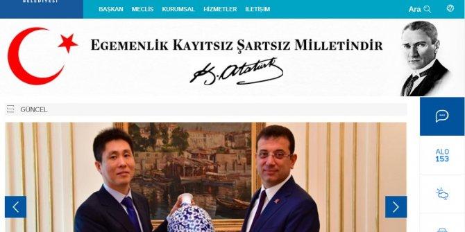 İBB'nin sitesine Atatürk geri geldi