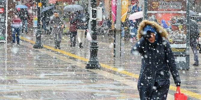 Meteoroloji'den uyarı: Kar geliyor