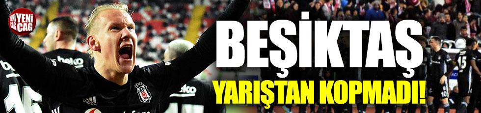 Sivasspor-Beşiktaş 1-2 (Maç özeti)
