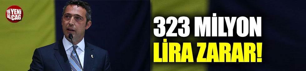 Fenerbahçe'de zarar 323 milyon lira!