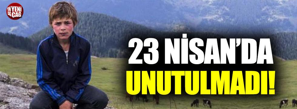 Eren Bülbül 23 Nisan'da unutulmadı