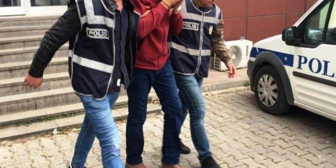 Biga'da hırsızlık şüphelisi tutuklandı