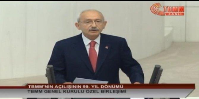 Kemal Kılıçdaroğlu'ndan milli egemenlik açıklaması