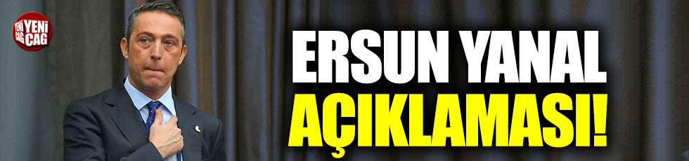 Ali Koç'tan Ersun Yanal açıklaması