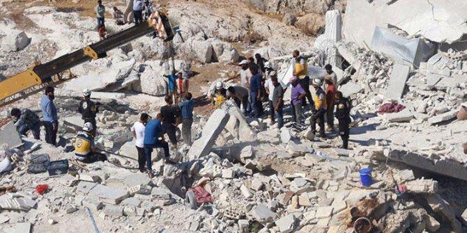 İdlib'de şiddetli patlama: 11 ölü
