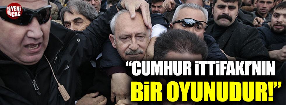 """Turgut Kazan: """"Cumhur İttifakı'nın bir oyunudur"""""""