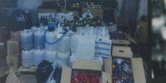 Ankara'da 'sahte içki' operasyonu