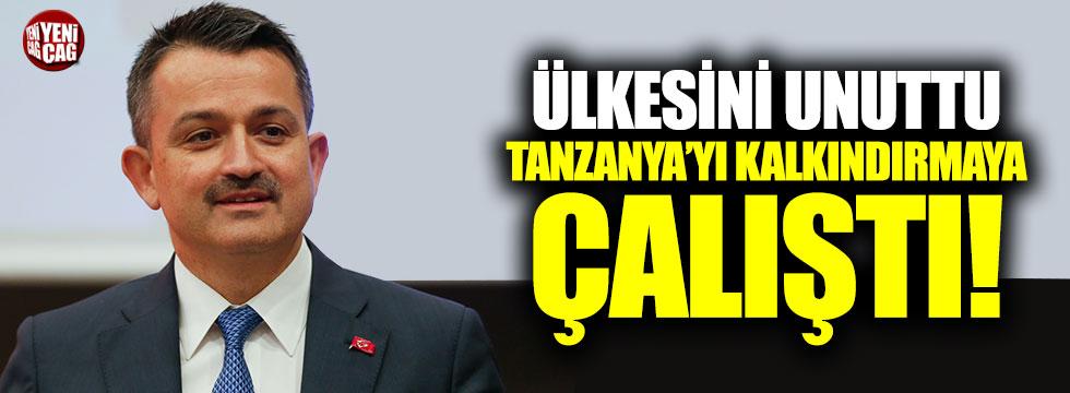 Pakdemirli ülkesini unuttu, Tanzanya'yı kalkındırmaya çalıştı!