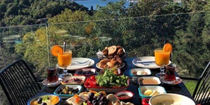 Doğayla iç içe kahvaltı yapabileceğiniz mekanlar