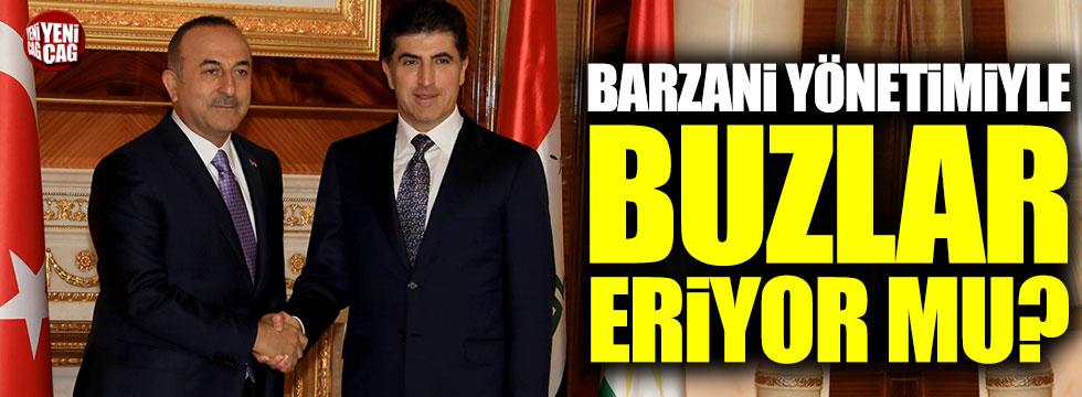Erbil'de Çavuşoğlu-Barzani zirvesi gerçekleşti