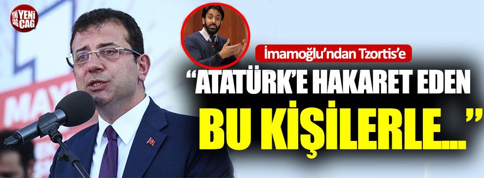 """Ekrem İmamoğlu: """"Atatürk'e hakaret eden kişilerle.."""""""