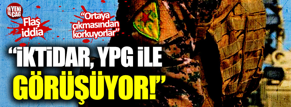 """CHP Sözcüsü Faik Öztrak: """"İktidar, YPG ile görüşüyor"""""""