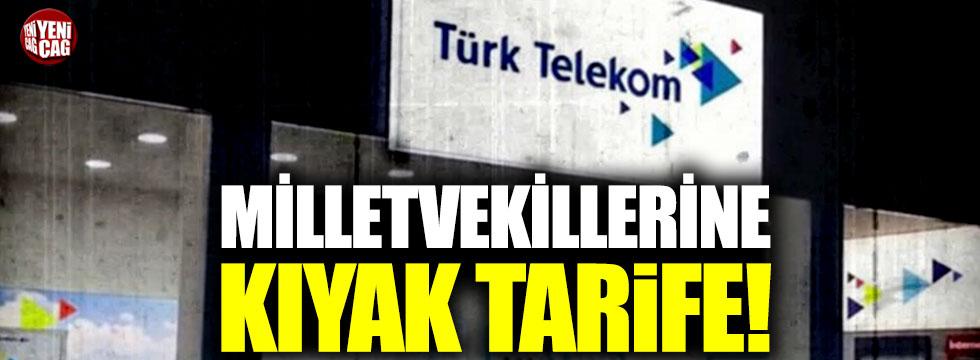 Türk Telekom'dan Milletvekillerine kıyak!