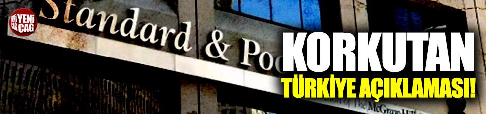 S&P'den korkutan Türkiye açıklaması!