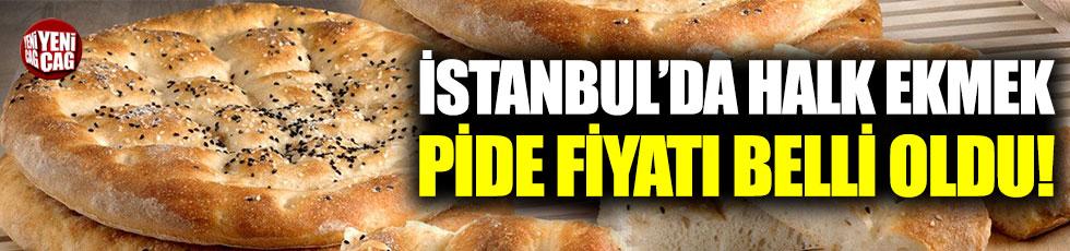 İstanbul'da Halk Ekmek pide fiyatı 1 TL