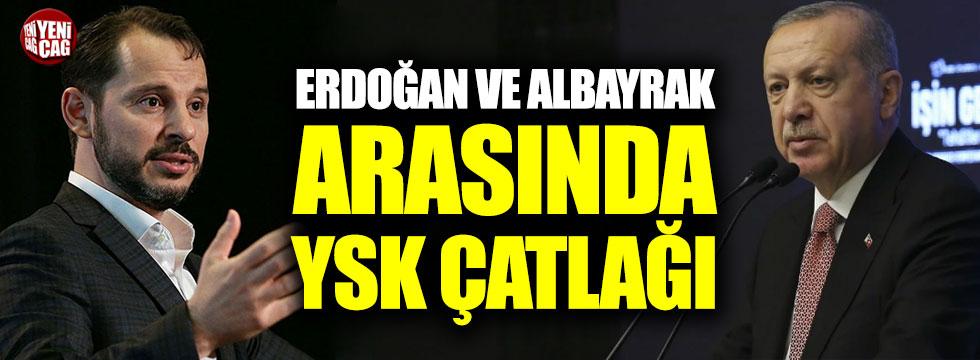 """Erdoğan ve Albayrak arasında YSK çatlağı: """"Bir işi beceremediniz!"""""""