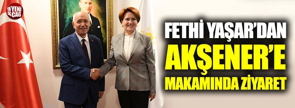 Yenimahalle Belediye Başkanı Yaşar'dan Akşener'e ziyaret