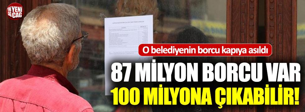 AKP'den CHP'ye geçen belediyenin borcu dudak uçuklattı