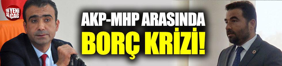 """AKP-MHP arasında borç krizi: """"İttifaka sadık kalıp borçları ilan etmemişsek..."""""""