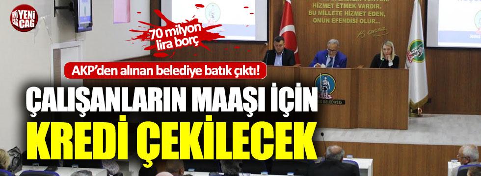 AKP'den alınan Ödemiş belediyesi batık çıktı!